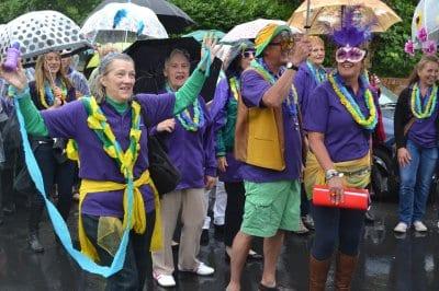 Poulton Gala 2014 with Poulton Peoples Choir