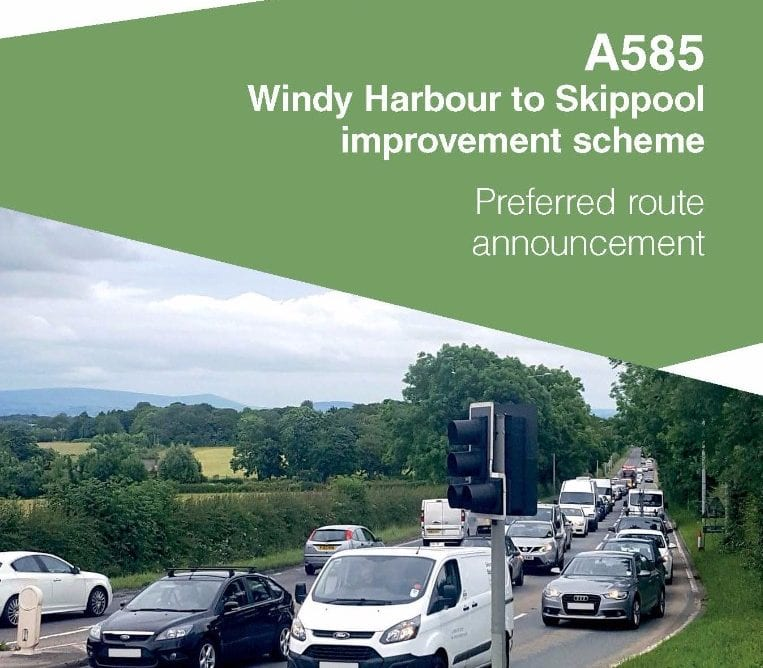 A585 Windy Harbour to Skippool Road Improvement Scheme