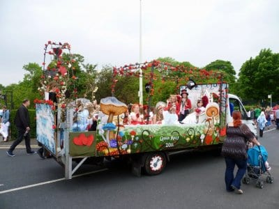 Float at Poulton Gala