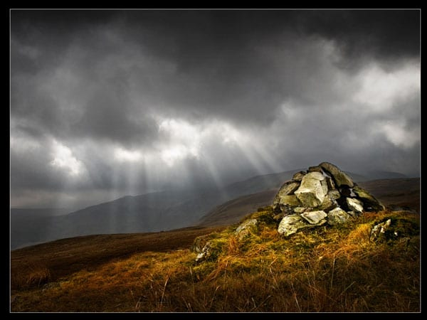 Cairn and Suburst by Tom Richardson for Poulton Photographic Society