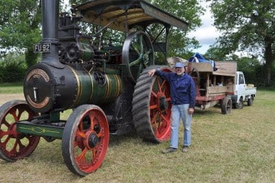 Barrie & marshall traction engine 'Punch'