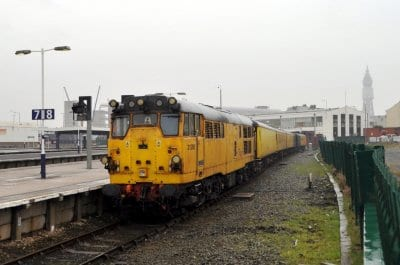 Network Rail Gauging Train