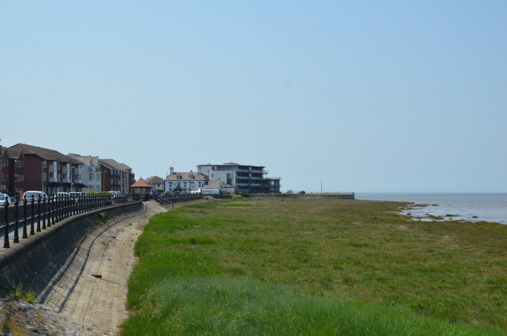 Knott End seafront