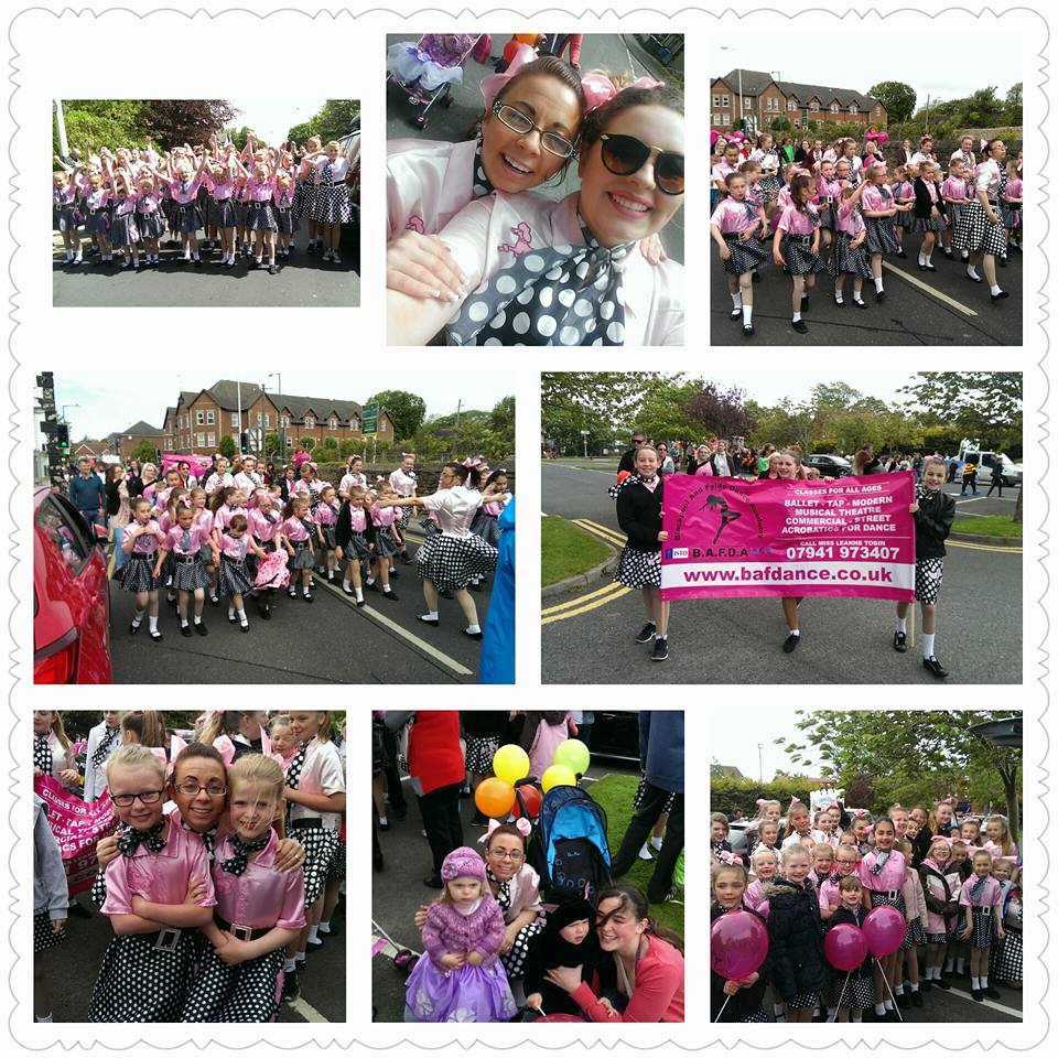 Blackpool & Fylde Dance Academy at Poulton Gala