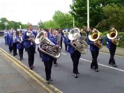Poulton Gala town centre parade
