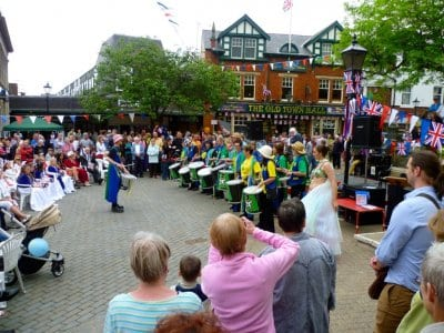 Poulton Gala in the Market Square