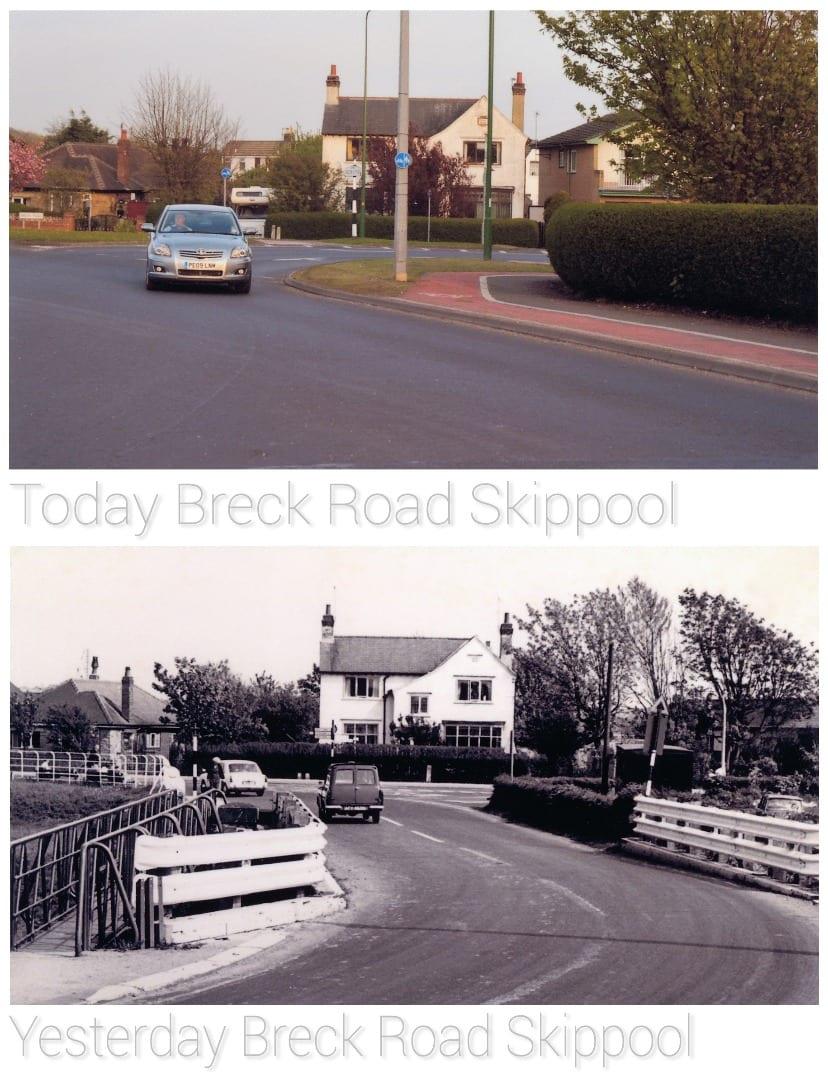 River Wyre Roundabout at Skippool, Poulton. Old Photos of Poulton-le-Fylde - mid 1900's