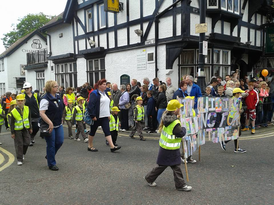 Poulton Gala Parade. Photo: Sarah Singleton