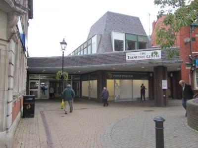 Booths plans for the Teanlowe Centre, Poulton