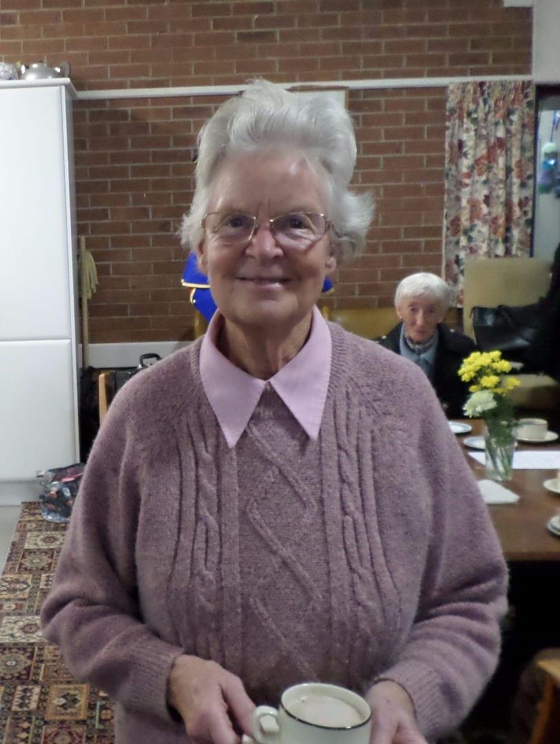 Ann Martin at Teanlowe 60+ community centre