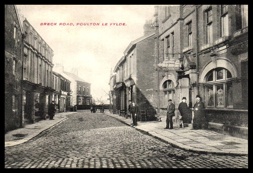 An old view of Breck Road Poulton, from Mel Jones.