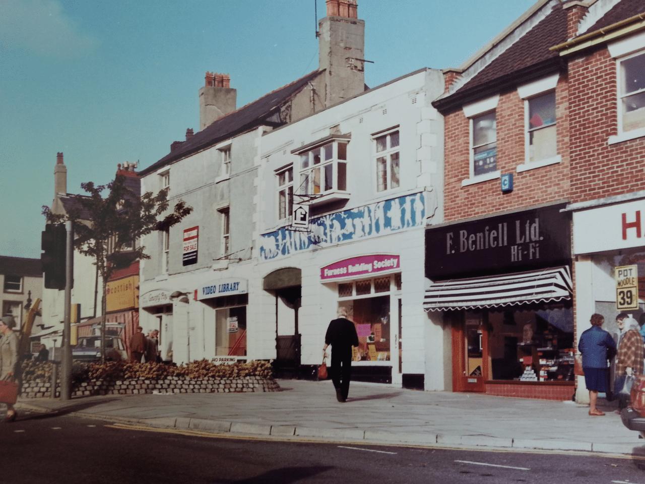 Poulton Town Centre. Old Photos of Poulton-le-Fylde - mid 1900's