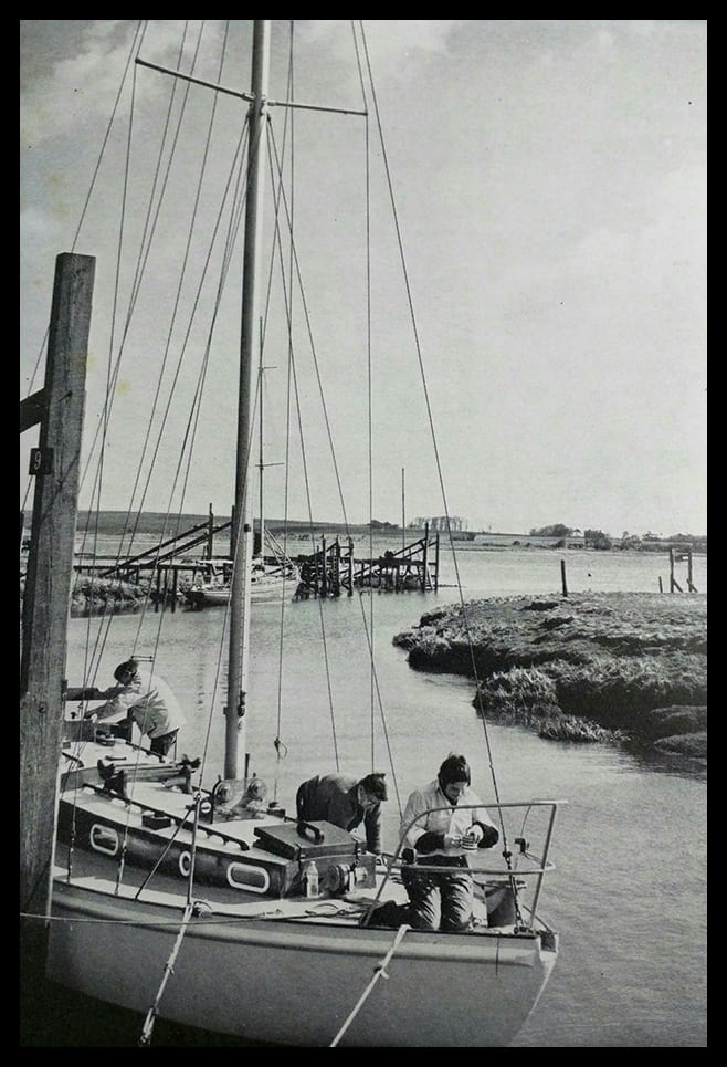 Old boats at Skippool, shared by Mel Jones