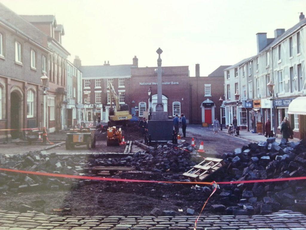 Repaving Poulton Market Square