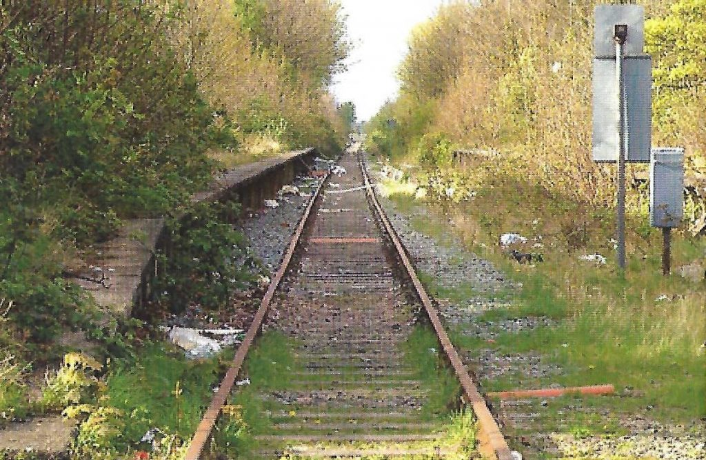 Thornton Station before the work of Poulton and Wyre Railway Society