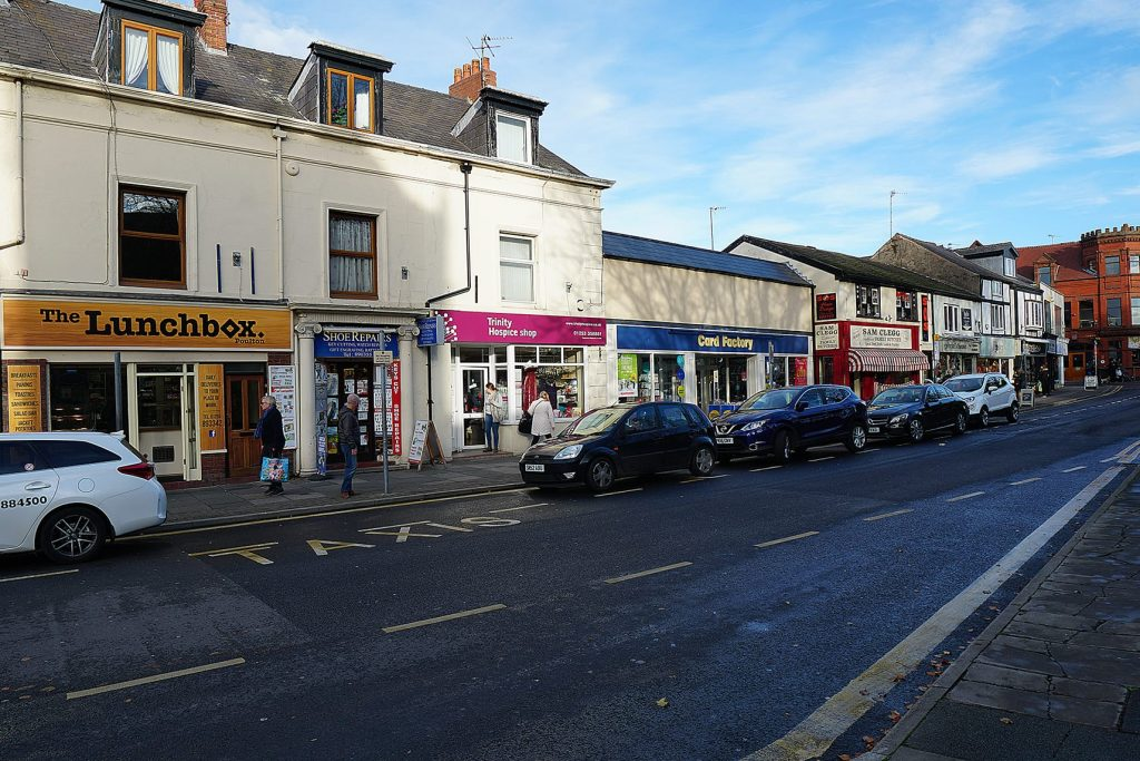Ball Street in Poulton Town Centre